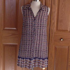NIC + ZOE - Sleeveless Tunic Dress - EUC